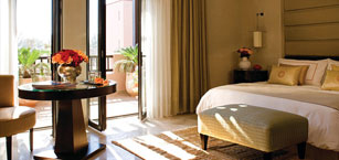 Chambre au Four Seasons Resort Marrakech