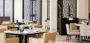 Le restaurant au Four Seasons Resort Marrakech